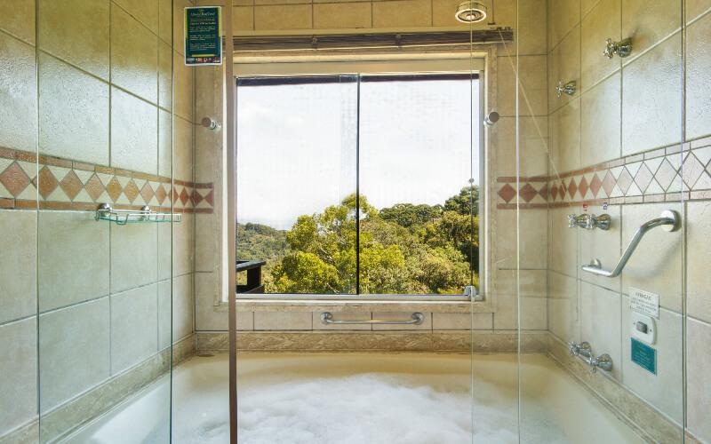 Apartamento triplo com banheira em Campos do Jordão